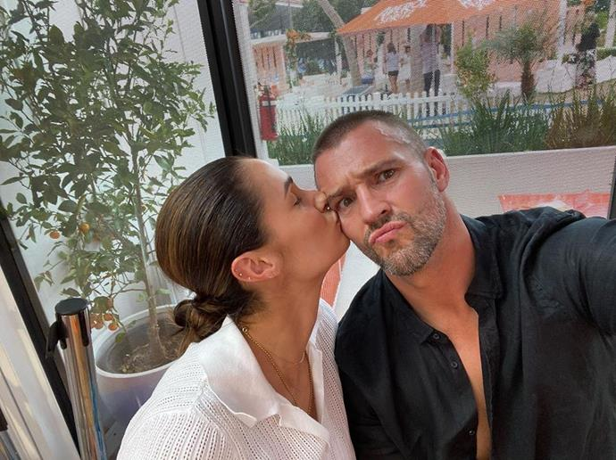 "Kris Smith shared a sweet tribute to his partner Sarah Boulazeris confessing: ""I hate valentine day, and everything it's become... But if I was forced to do it, it would be with the love of my life....I love you @thisisme.sb happy rip off day ❤️❤️❤️❤️❤️"""
