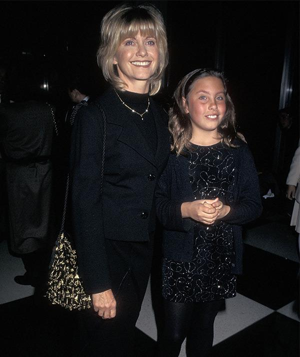 Chloe has been accompanying her mother to Hollywood events since she was a little girl! They're pictured here at the 25 Women Leaders in Action event at the UN in New York City in 1997.