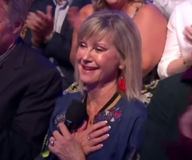 """ONJ was visibly emotional during Chloe's debut performance on *Dancing With The Stars* in early February. """"It was so amazing to see her shine and dance so beautifully it just took my breath away. It was wonderful to be on the other side,"""" ONJ told *The Project* host Lisa Wilkinson of her daughter's performance on *DWTS*."""