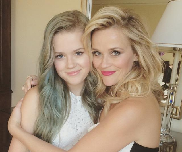 Even when she dyed her hair a pale greeny-blue, Ava was still the spitting image of her mother.