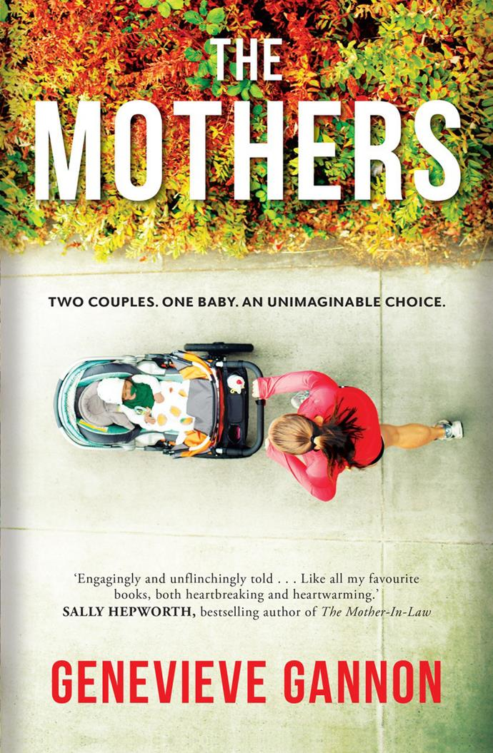 Genevieve Gannon researched IVF mix-up cases for her novel, *The Mothers*, published by Allen and Unwin, which out now.**
