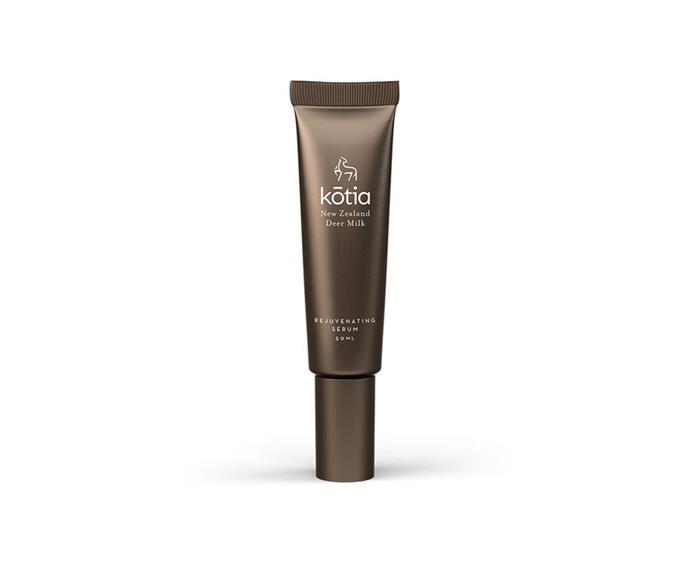 "Rejuvenating Serum by kōtia, $74.99 at [Priceline Pharmacy](https://www.priceline.com.au/kotia-rejuvenating-serum-50-ml|target=""_blank""|rel=""nofollow"")"