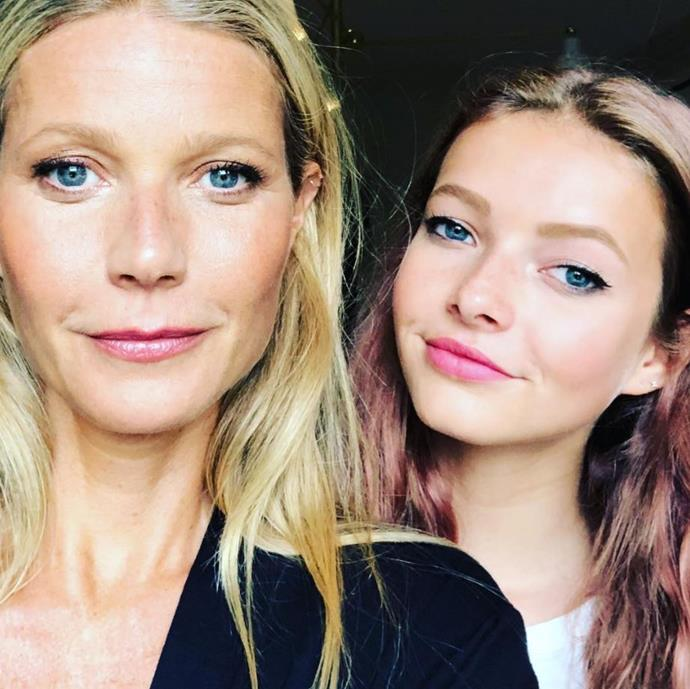 """My daughter finds me mortifying,"" Gwyneth admitted on Ellen DeGeneres' talk show."