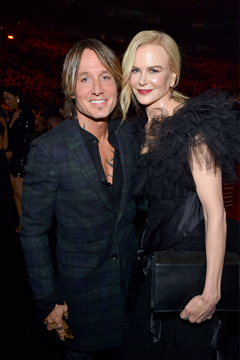 Nicole Kidman and Keith Urban at the 52nd Annual CMA Awards