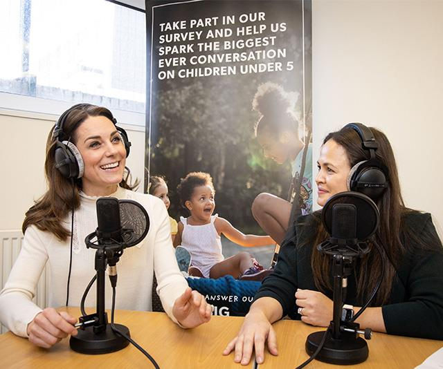 Kate recently starred on a podcast to promote the survey.