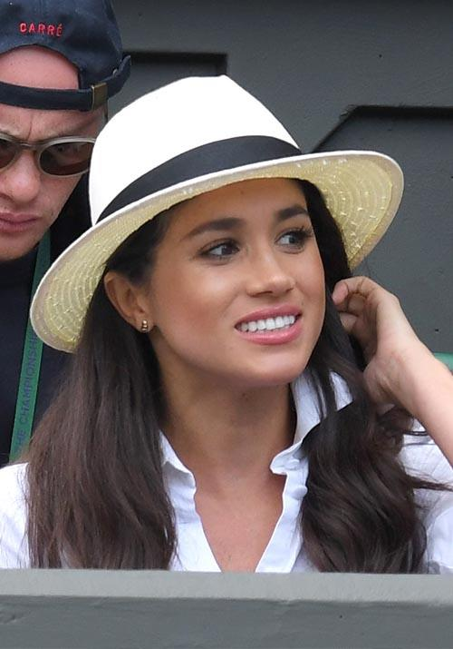 "Meghan has proved many a time that she's a fan of a humble panama hat - and its origins with the royal stem right back to the above 2016 sighting when she wore it to the tennis tournament. Three years later, the Duchess returned to centre court wearing the [same style](https://www.nowtolove.com.au/royals/british-royal-family/meghan-markle-wimbledon-2019-56856|target=""_blank"") again!"