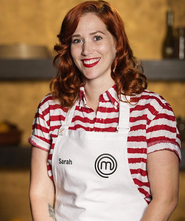 **Sarah Clare, season 10** <br><br> After competing in season 10 of *MasterChef* Sarah returned to her Tasmanian roots and is now firmly ensconced back home with her young son Elvis. After working in the kitchen at Fat Pig Farm alongside Mathew Evans, Sarah launched a series of pop ups called Wild, featuring beautifully sourced, local ingredients. She now runs her own restaurant, ILHA in Cygnet,