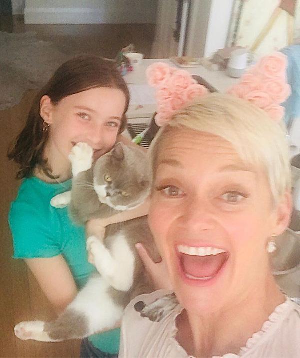 "Jess is a self-described ""crazy cat lady""."