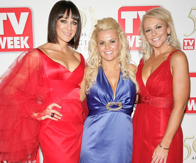Ajay Rochester,  Michelle Bridges, Alison Braun at the TV WEEK Logie Awards in 2008.