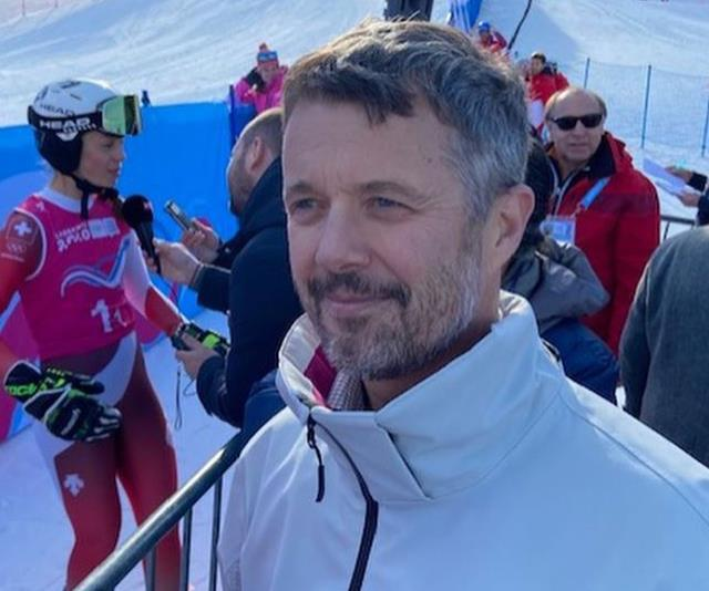 The Crown Prince was skiing in Switzerland when the accident occurred.
