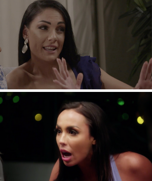 Vanessa lashed out at Natasha after thinking Natasha was hitting on husband, Chris.