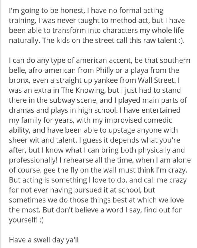 阿曼达说她的能力和自己的能力一样。