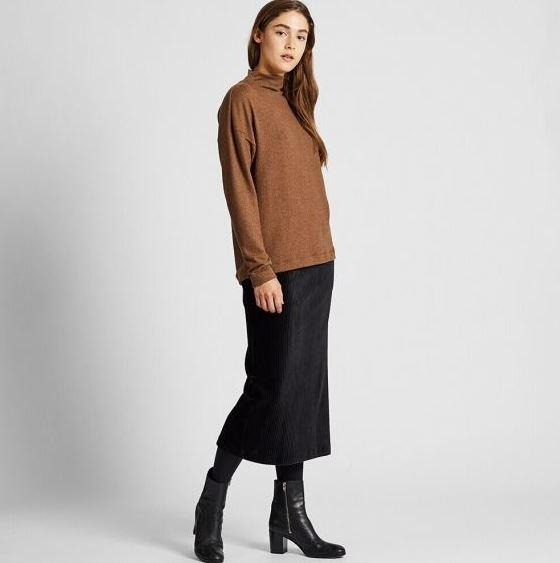 "Uniqlo Soft Knitted Fleece, $19.90. [Available online here](https://www.uniqlo.com/au/store/women-soft-knitted-fleece-high-neck-long-sleeve-t-shirt-4182390007.html|target=""_blank""