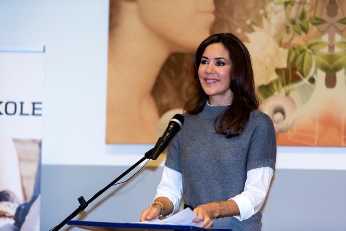 Crown Princess Mary has shared some candid snaps from her holdiay in Switzerland.