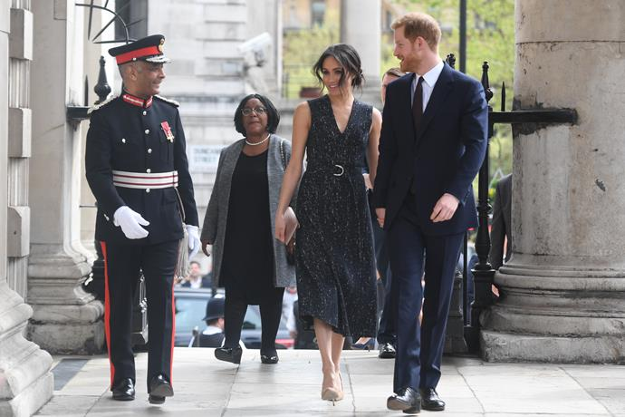 Harry and Meghan will attend an evening of music at the Royal Albert Hall on March 7.