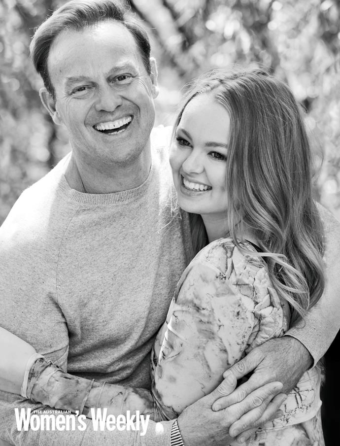 Jason pictured with his daughter Jemma, who is a star on *Neighbours* herself.