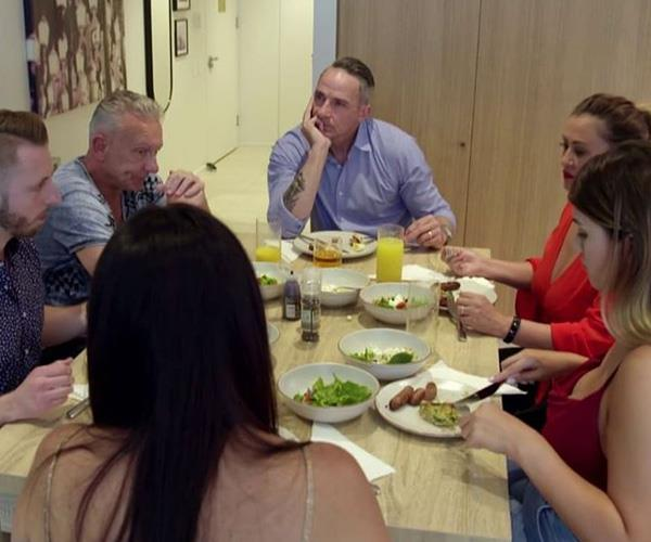Steve invited his friends to lunch on *MAFS* as his estranged son lives in the UK.