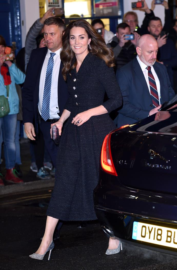 The Duchess of Cambridge glowed as she stepped out in London.