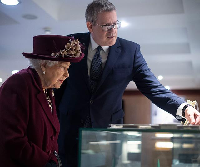 The Queen's father, King George VI, aided MI5 by distracting the enemy with a royal visit.