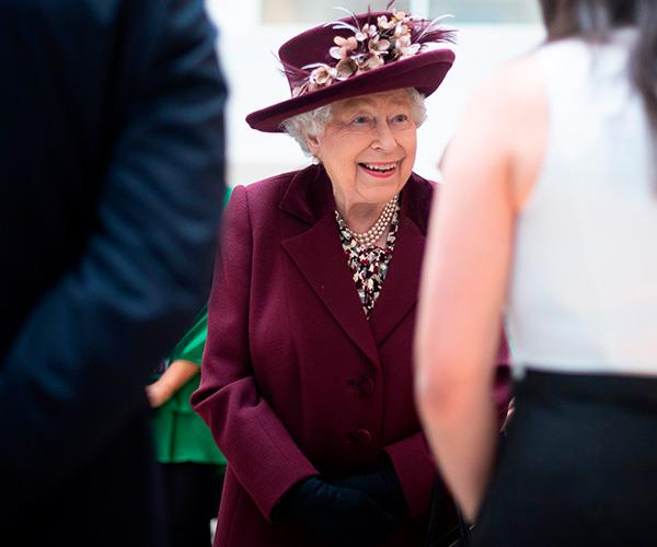 The Queen thanked MI5 workers for the work they carry out in a heartfelt speech.