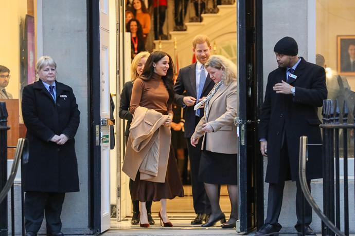 Harry and Meghan will be back out in force with several events in the first week of March.