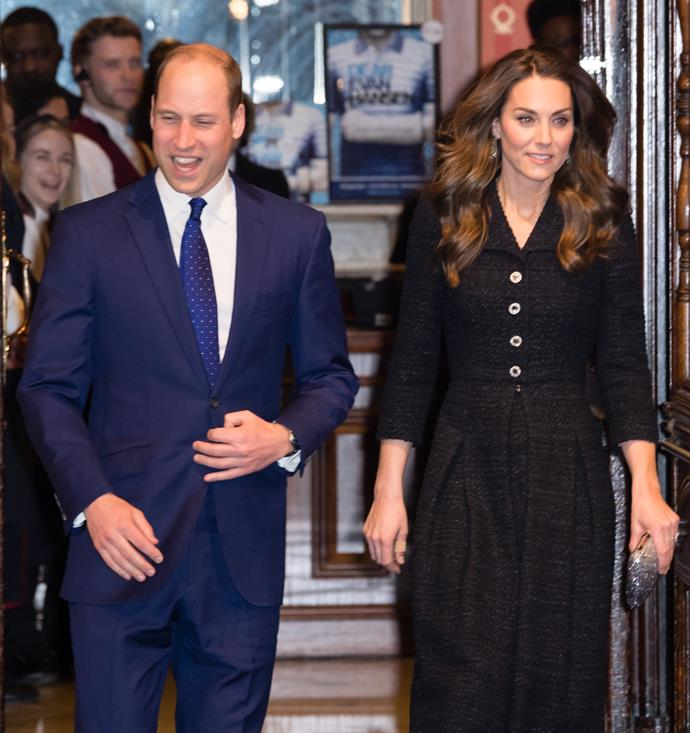 Kate and William stepped out for the ultimate date night on Tuesday evening.