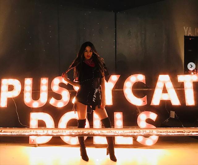 KC Osborne danced with the Pussycat Dolls.