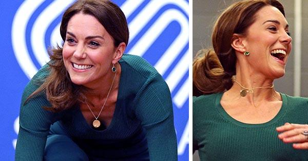Duchess Catherine gets sporty in a pair of $11 Zara culottes - and she pulls it off like a pro