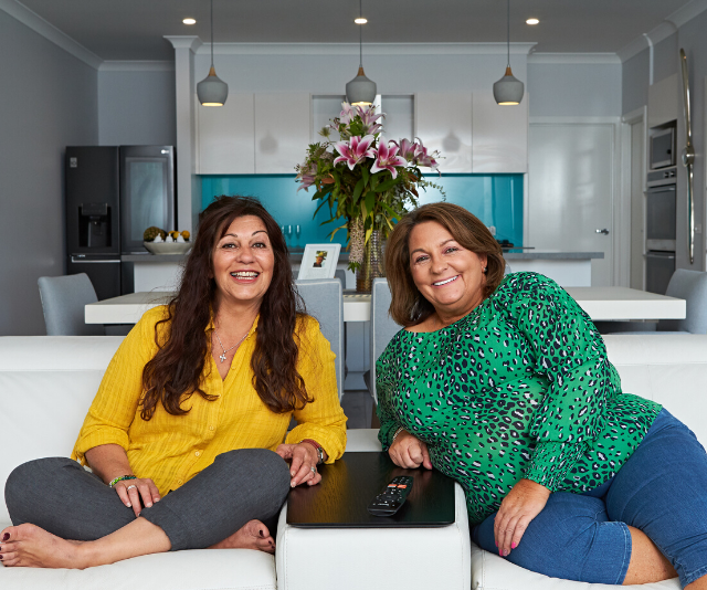 *Gogglebox* duo confirm they wont be moving from the couch anytime soon!