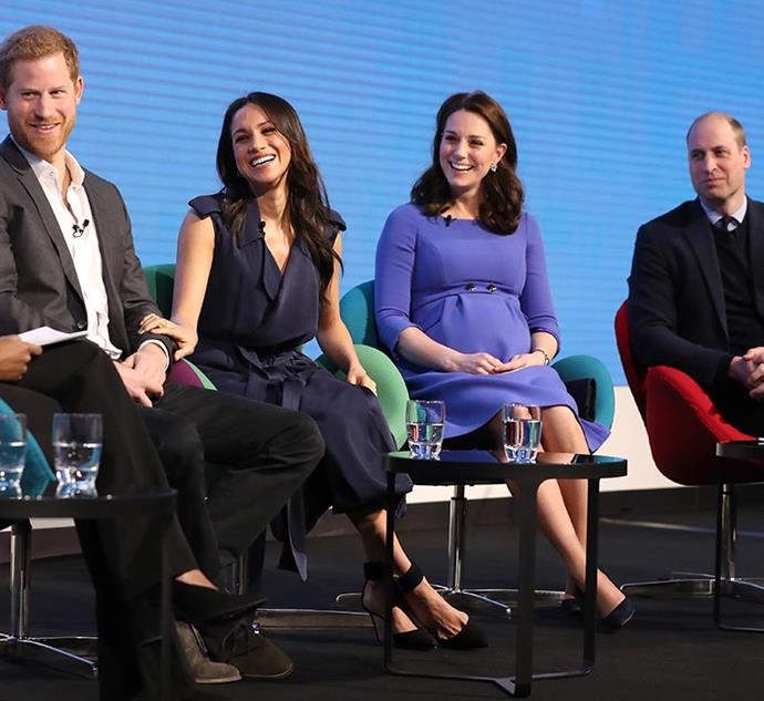 In February 2018, the first annual Royal Foundation Forum was held at insurance company Aviva, where the royals sat on a panel to discuss various social issues.
