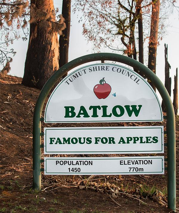"""We're famous for our apples and the industry is reeling,"" Kathy explains."