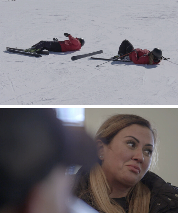 Mishel tore her meniscus during a skiing accident while on her honeymoon with Steve.