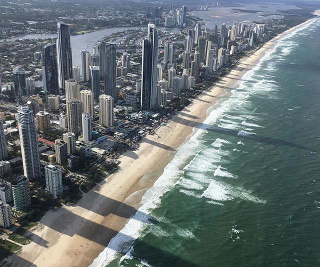 The stunning Gold Coast.