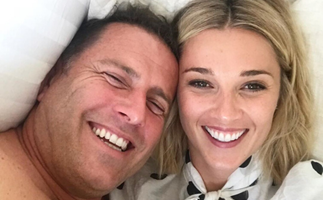 """""""We just can't wait to meet this little girl"""": Karl Stefanovic says he is thrilled to become a father for the fourth time"""