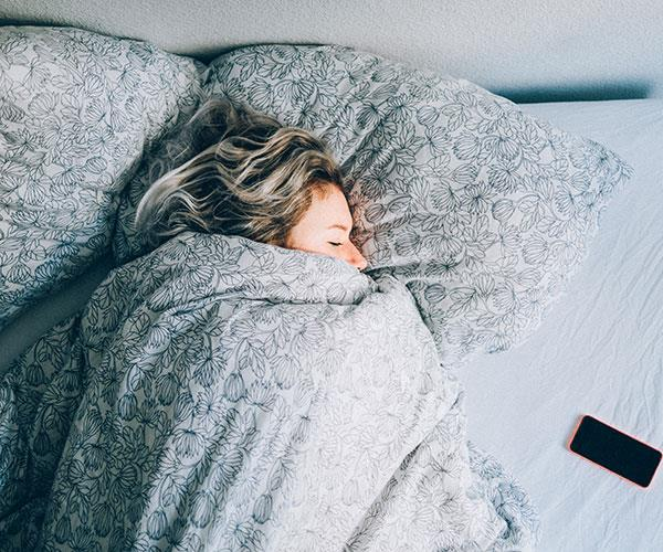 A good night's sleep can work wonders.