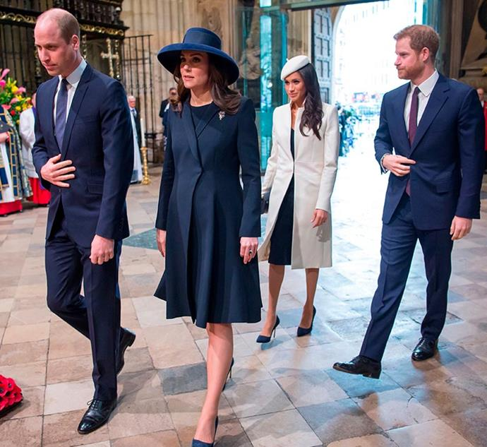 The four royals will step out for the third year in a row at the 2020 Commonwealth Day Service at Westminster Abbey.