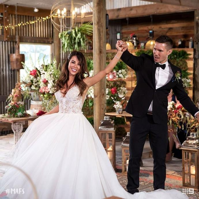 Dancing their way into forever? **KC and Drew** make a stunning couple.