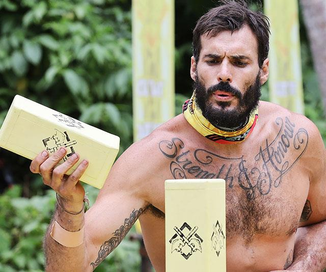 Locky caught the attention of women across the nation while on *Australian Survivor.*