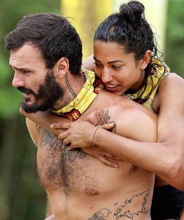 Brooke and Locky became close while playing Australian Survivor: All Stars.