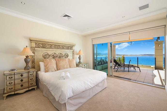 KC and Drew's romantic getaway was at the Star of the Sea Resort in Terrigal, NSW.