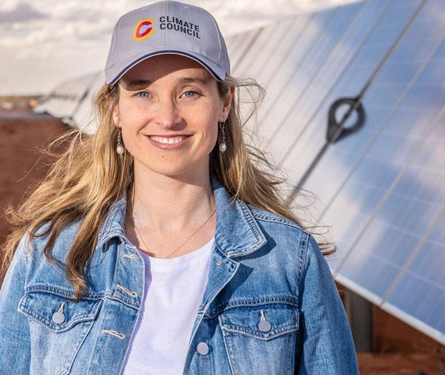Amanda McKenzie, CEO of the Climate Council.