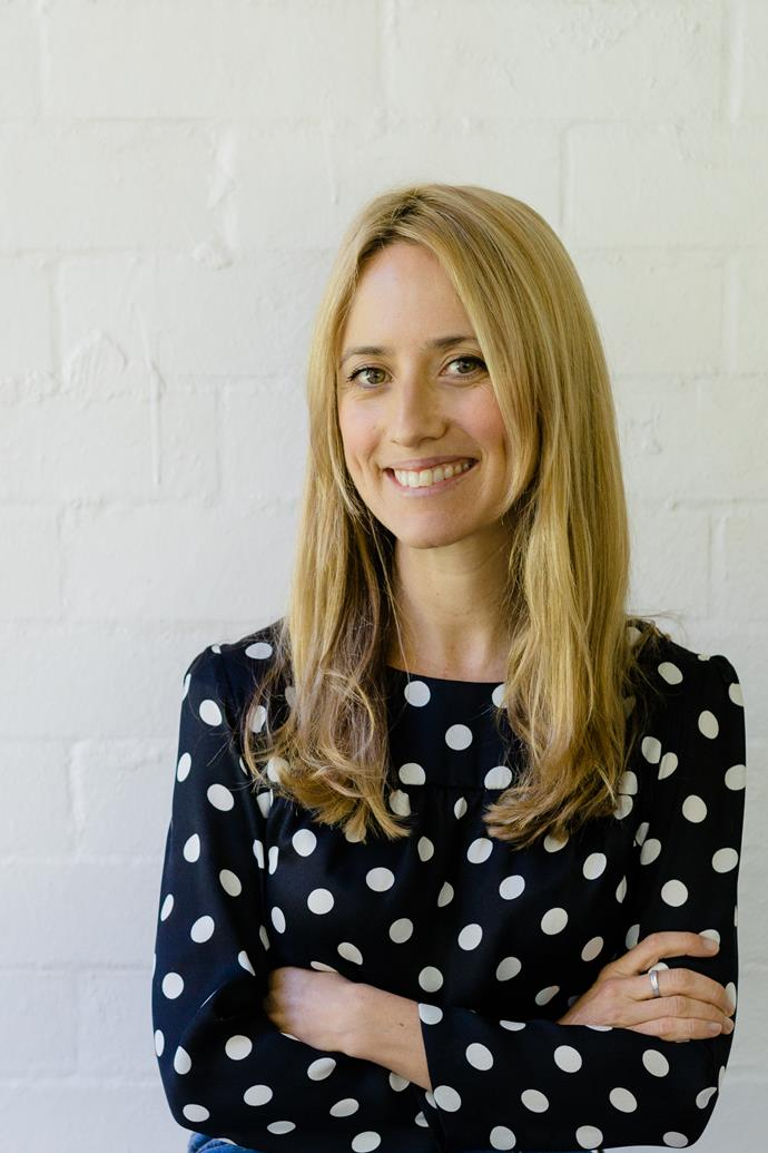 Erica Bartle, founder of Outland Denim.