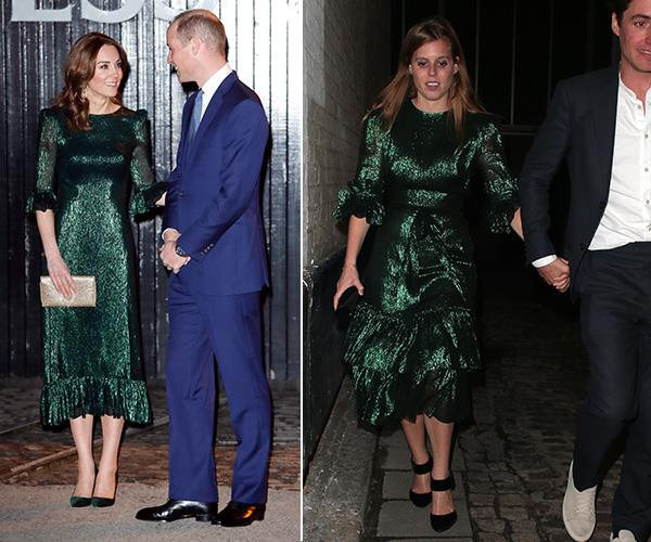 """On her state visit to Ireland with Prince William, Duchess Catherine glittered in [an emerald green Vampire's Wife dress.](https://www.nowtolove.com.au/royals/british-royal-family/kate-middleton-ireland-green-dress-62857