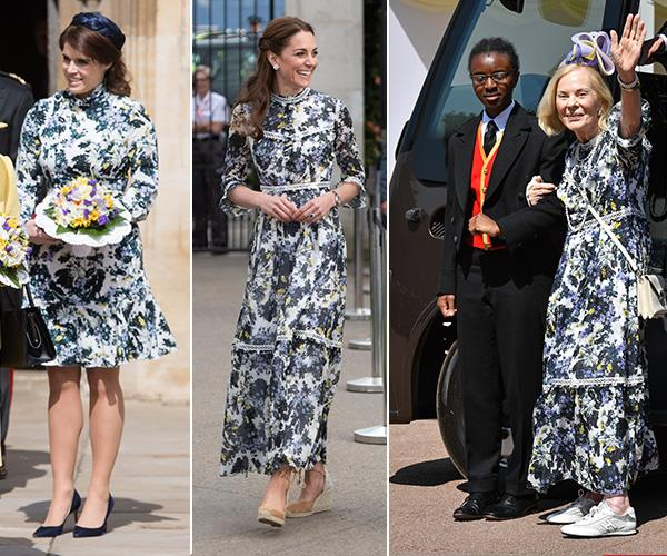 """This floral Erdem dress has [not just been worn by Duchess Catherine](https://www.nowtolove.com.au/fashion/fashion-trends/kate-middleton-erdem-dress-55934