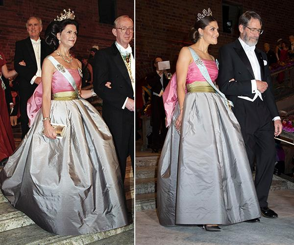 """Ok now we really are seeing double. Crown Princess Victoria of Sweden [stepped out in the same Nina Ricci dress](https://www.nowtolove.com.au/royals/international-royals/princess-victoria-queen-silvia-dress-53043