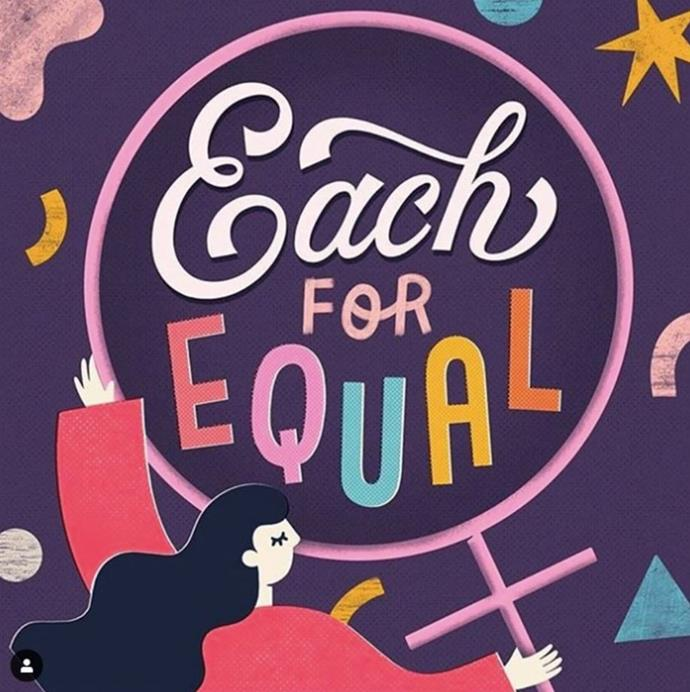 Each for Equal is the official International Women's Day theme for 2020.
