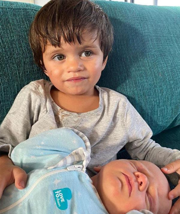 Brothers in arms: Hakavai makes for the ultimate doting big brother.