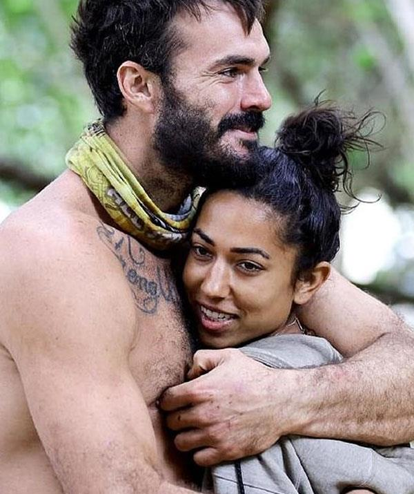 "Brooke and Locky were called ""husband and wife"" on *Survivor.*"