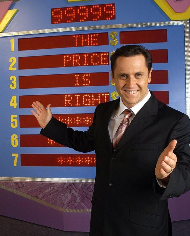 Larry hosted *The Price Is Right* back in the 2000s.