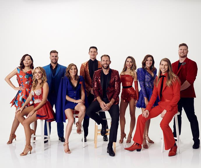 Meet the cast of the 2020 *Dancing With The Stars Australia.*